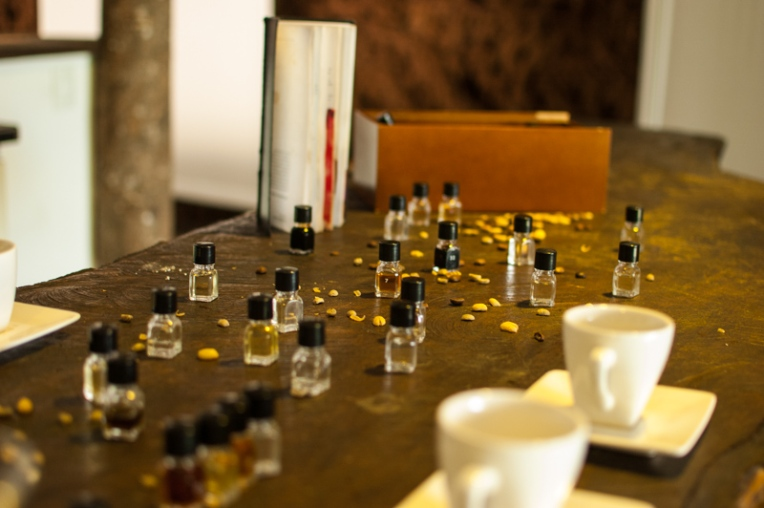 Perfumes del café