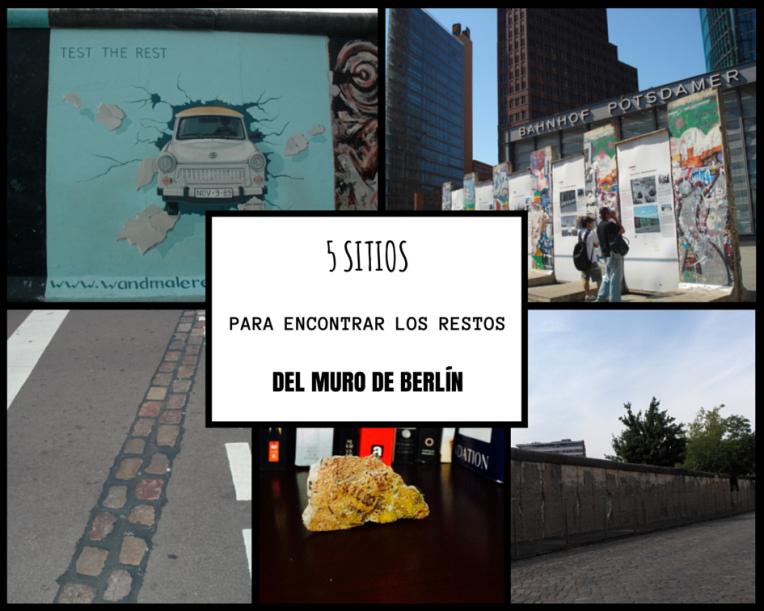 los 5 sitios para encontrar restos del Muro de Berlín