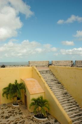 Fuerte San José el alto - museo de barcos y armas, Ciudad de Campeche en México