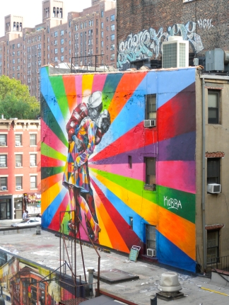 Graffiti en la High Line, Nueva York