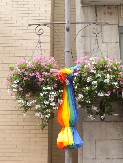 Bandera gay en Quebec, Canadá
