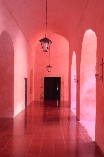 Convento de San Bernardino de Siena, Valladolid, Yucatán, Sureste de México - Sin filtro