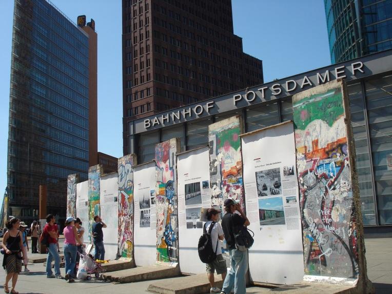 Muro de Berlín en Postdamer Platz