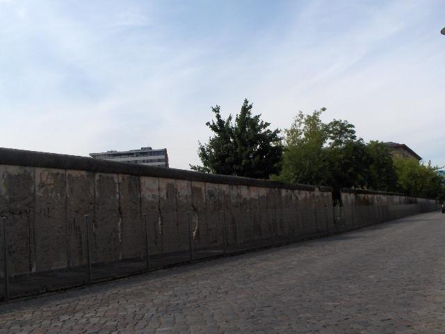 Muro de Berlín desde la Exposición Topografía del Terror