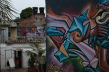 Grafiti en La Candelaria