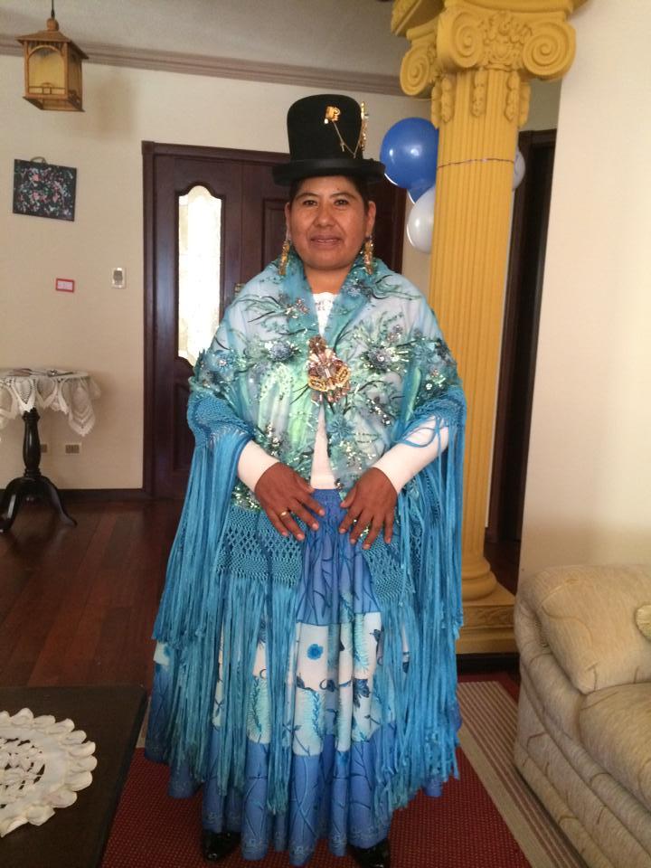 Cholita Paceña. Foto cortesía de Julisa Briceño