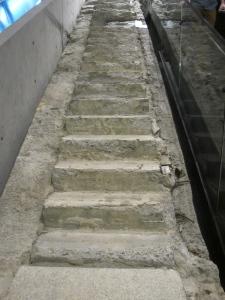 Escaleras del Museo del 9/11, Nueva York