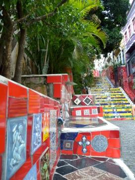 escaleras Selarón en Rio de Janeiro