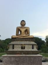 Estatua de Buda en Victoria Park