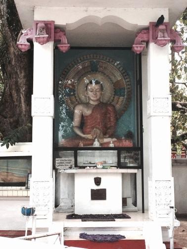Estatua de Buda en la calle