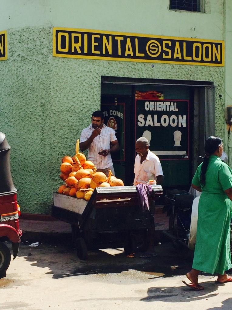 venta de king coconut en el Pettah