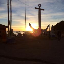 atardecer en Copacaban bolivia