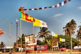 bandera SriLanka y vaticano