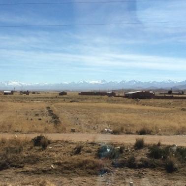 camino al lago titicaca