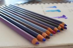 colores prismacolor relacionados al indigo