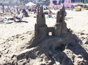 concurso de castillos de arena Begonia Festival 3