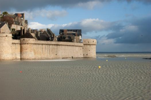 Fortificaciones del Mont Saint-Michel