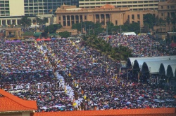 Galle Face Green misa Papa Francisco Sri Lanka 2015 3
