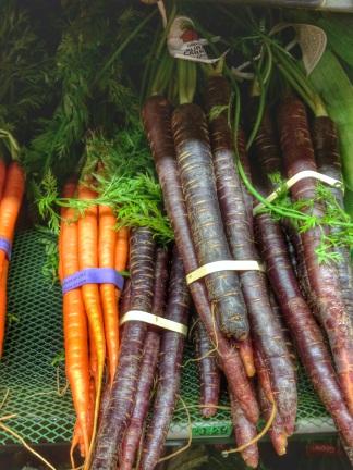 zanahorias de diferentes colores