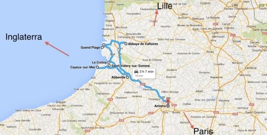 mapa Picardia