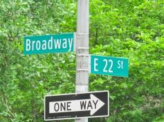 New York, cruce donde vivía previamente