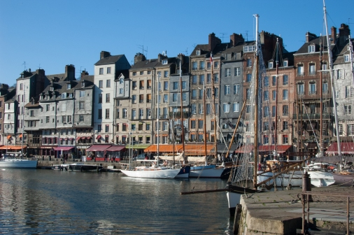 Port Honfleur Normandie France
