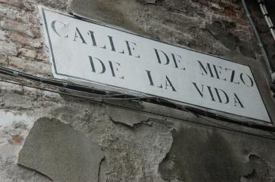 Callecita de Venecia, Italia