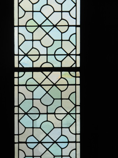 Vidriera en la Abadía
