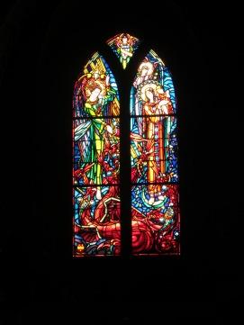 Vidrio de la Iglesia Parroquial de San Pedro