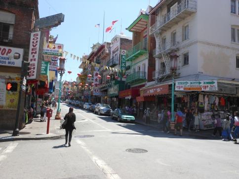 Barrio Chino San Francisco, California.