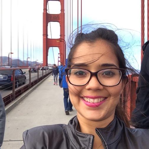 Rebeca en el Golden Gate 2