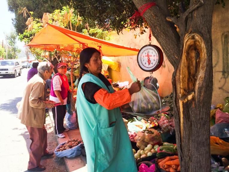 Mercado local La Paz