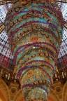 Decoración de navidad en las Galerías Lafayette
