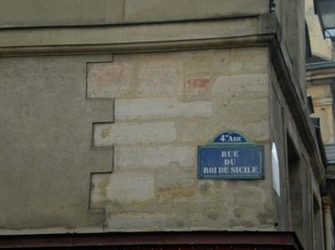 Calle en Le Marais