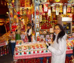Yo en el Mercado Principal de Budapest