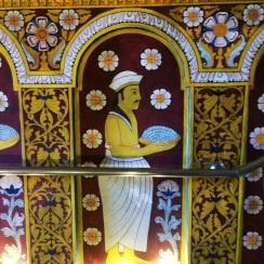 murales en el Templo del Diente