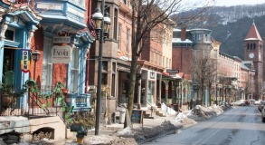 calle Broadway en Jim Thorpe