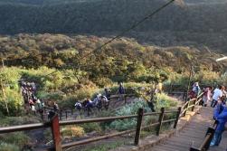 Escaleras del Adam's Peak