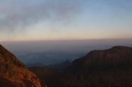 vista del mar desde el Adam's Peak