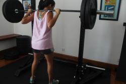 Sentadilla squad 50kg-110 libras 2