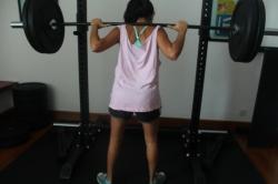 Sentadilla squad 50kg-110 libras 3