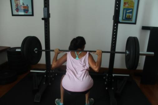 Sentadilla squad 50kg-110 libras 4
