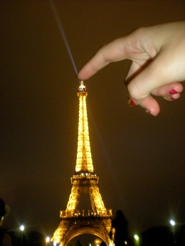 torre eiffel perspectiva paris francia