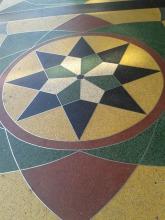 Piso mosaico