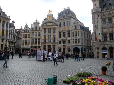 Plaza Mayor de Bruselas, Bélgica