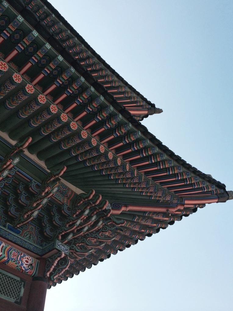 techos palacio Palacio de Gyeonbokgung