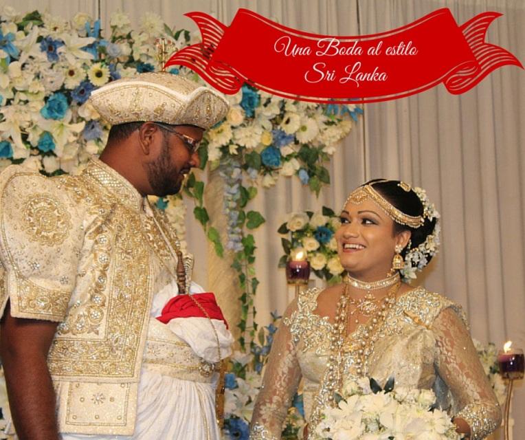 Una boda al estilo Sri Lanka