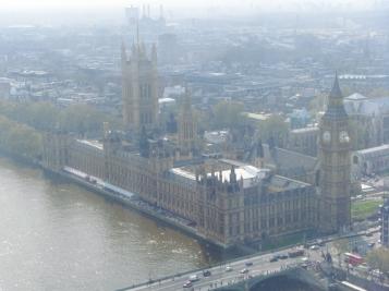 El Palacio y la abadia de Westminster, Londres, Inglaterra