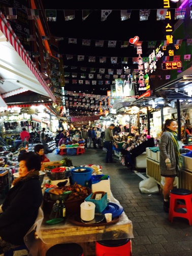Mercado de Namdaemun Seul