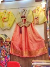 Hanbok traje tipico coreano